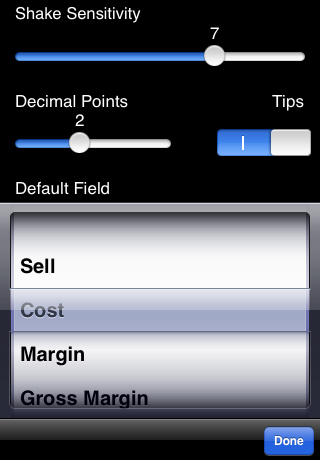 iMargin - Margin Calculator screenshot 5
